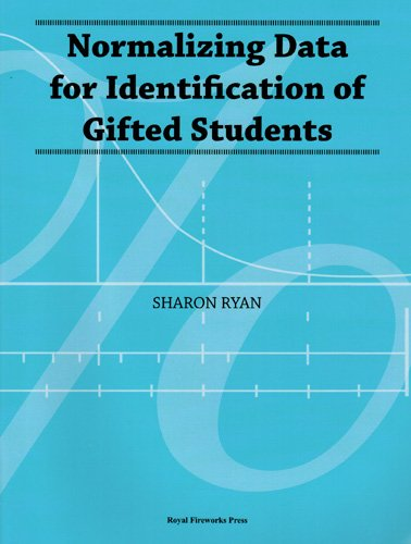 9780898247862: Normalizing Data for Identification of Gifted Students