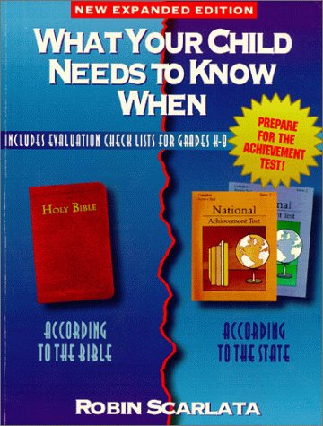 9780898260441: What Your Child Needs to Know When