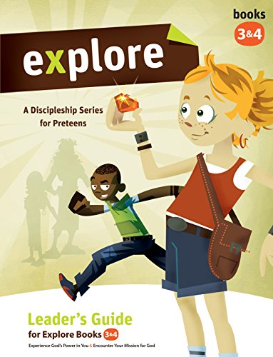 Explore Leader's Guide 3&4 (Explore Kid's Discipleship): Wesleyan Publishing House