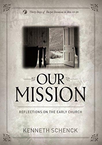 Our Mission: Schenck, Kenneth