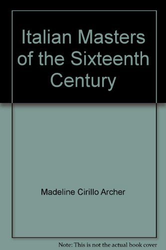 The Illustrated Bartsch (28): Commentary. Italian Masters of the Sixteenth Century: Madeline ...