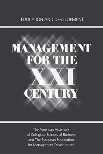 Management for the XXI Century: Education and Development: Springer