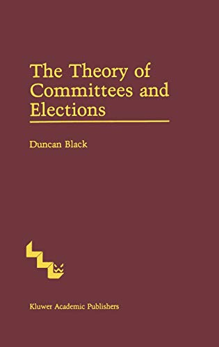 9780898381894: The Theory of Committees and Elections