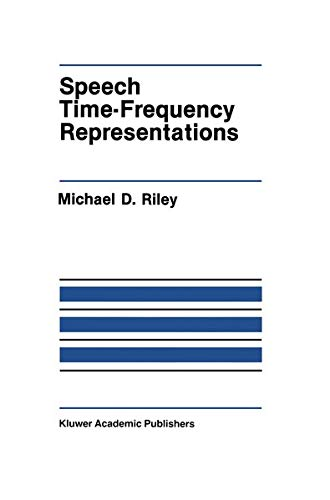 9780898382983: Speech Time-Frequency Representations (The Springer International Series in Engineering and Computer Science)