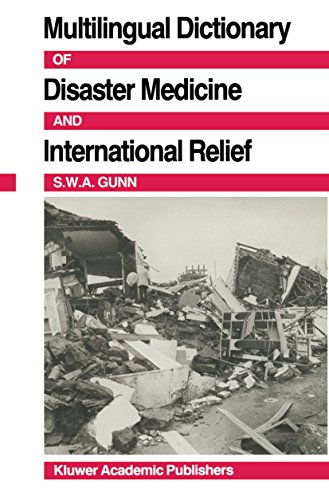 9780898384093: Multilingual Dictionary Of Disaster Medicine And International Relief: English, Français, Español