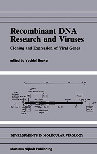 Recombinant DNA Research and Viruses Cloning and Expression of Viral Genes Developments in ...