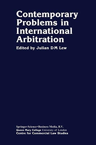 9780898389265: Contemporary Problems in International Arbitration
