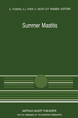 Summer Mastitis: Thomas, G; Over, H.J; Vecht, U & Nansen, P ( ed's)