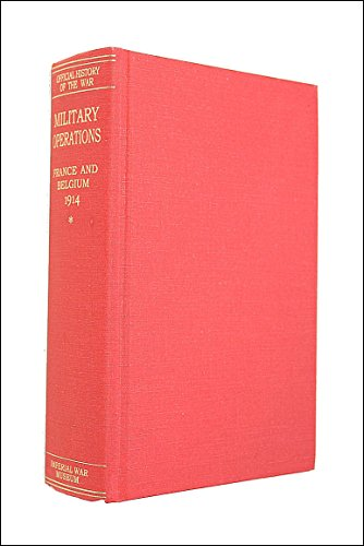 9780898392333: Military Operations, France and Belgium, 1914, Volume I (Great War, 43)