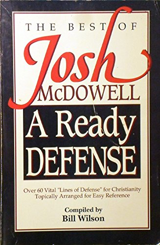 9780898402810: The Best of Josh McDowell: A Ready Defense