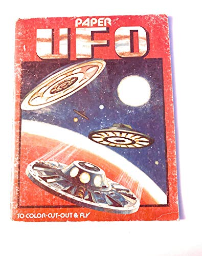 9780898440805: Paper UFO to color, cut-out & fly
