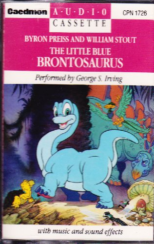 The Little Blue Brontosaurus (9780898451351) by Byron Preiss; William Stout