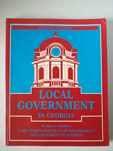 9780898541489: Local Government in Georgia