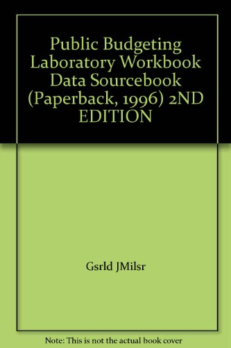 9780898541823: Public Budgeting Laboratory Data Sourcebook
