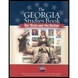 Georgia Studies Book: Our State And the Nation.: Jackson, Edwin L.; Stakes, Mary E.