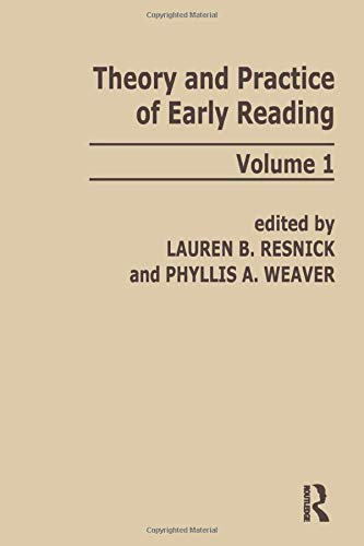 9780898590036: Theory and Practice of Early Reading: Volume 1