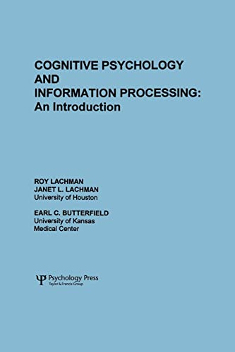 9780898591316: Cognitive Psychology and Information Processing: An Introduction