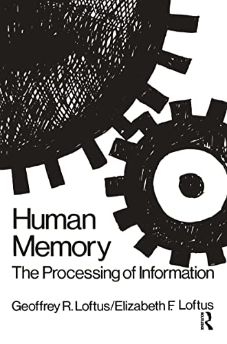 9780898591354: Human Memory: The Processing of Information