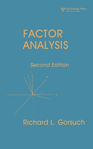 9780898592023: Factor Analysis, 2nd Edition
