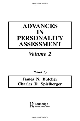 Advances in Personality Assessment: Volume 2 (Advances in Personality Assessment Series)