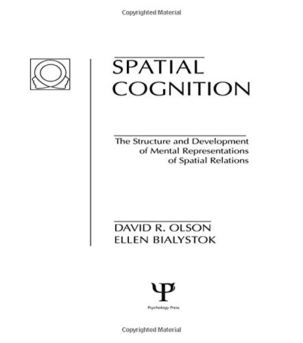 9780898592528: Spatial Cognition: The Structure and Development of Mental Representations of Spatial Relations (Child Psychology)