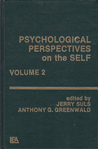 9780898592764: Psychological Perspectives on the Self (Vol 2)