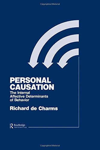 9780898593365: Personal Causation: The Internal Affective Determinants of Behavior