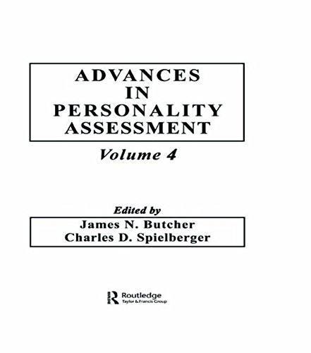 Advances in Personality Assessment: Volume 4 (Advances in Personality Assessment Series)