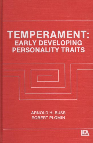 9780898594157: Temperament: Early Developing Personality Traits