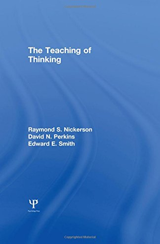 The Teaching of Thinking: Raymond S. Nickerson;