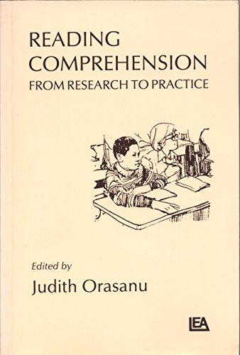 9780898597981: Reading Comprehension: From Research To Practice (Psychology of Reading and Reading Instruction Series)