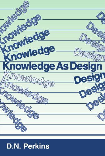 9780898598636: Knowledge As Design