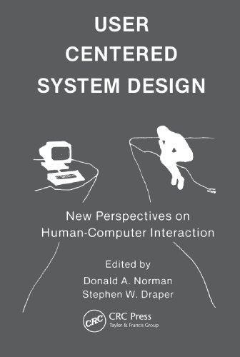 9780898598728: User Centered System Design: New Perspectives on Human-computer Interaction