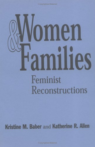 9780898620832: Women and Families: Feminist Reconstructions