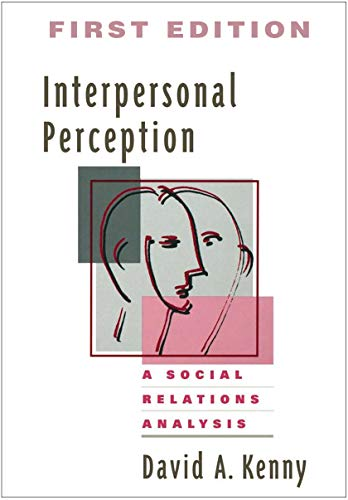 9780898621143: Interpersonal Perception: A Social Relations Analysis (Distinguished Contributions in Psychology)