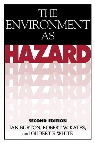9780898621594: The Environment As Hazard, Second Edition
