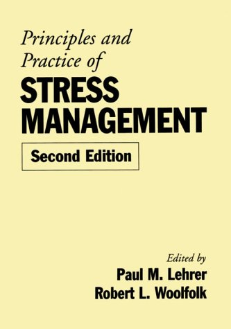 9780898621624: Principles and Practice of Stress Management, Second Edition