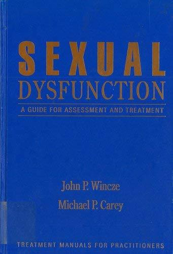 9780898622072: Sexual Dysfunction: A Guide for Assessment and Treatment