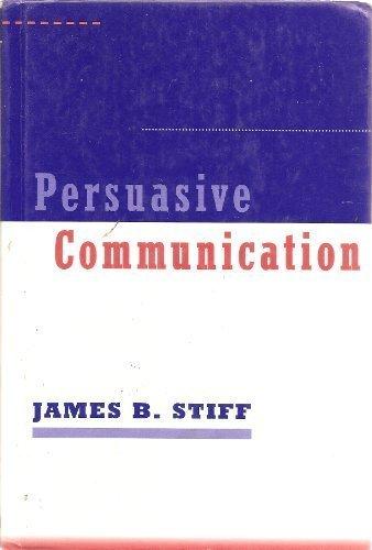 9780898623086: Persuasive Communication