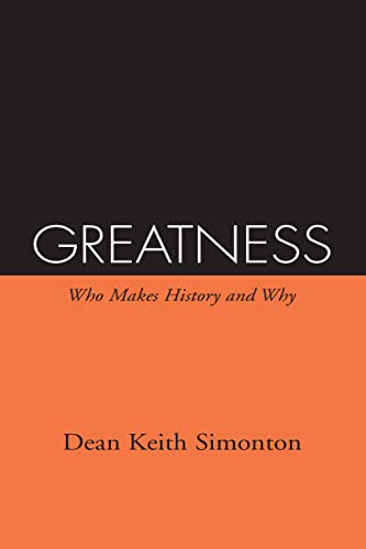 9780898623703: Greatness: Who Makes History and Why