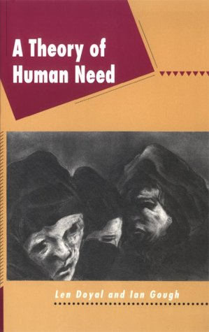 9780898624199: A Theory of Human Need (Critical Perspectives)