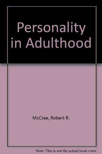 Mccrae costa Personality Across