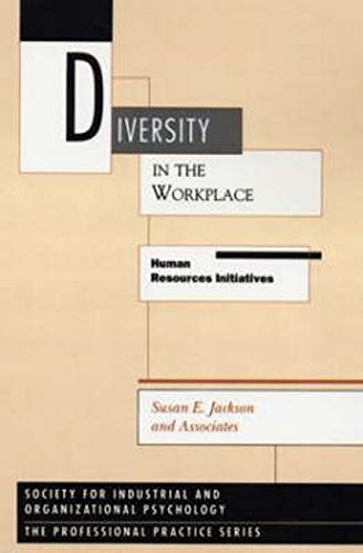 9780898624779: Diversity in the Workplace: Human Resources Initiatives
