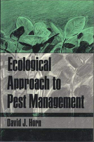 9780898625059: Ecological Approach to Pest Management (Food Production and Natural Resources)