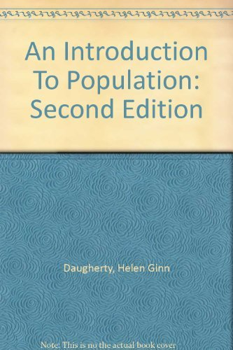 9780898625998: An Introduction To Population: Second Edition