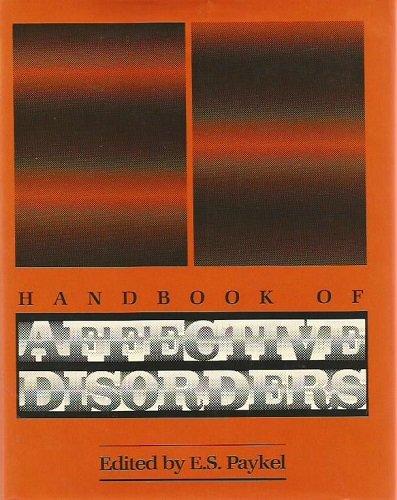 9780898626223: Handbook of Affective Disorders