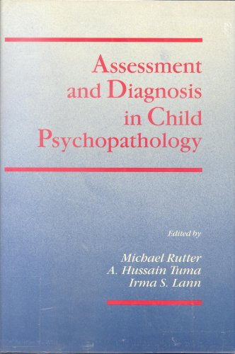 9780898626995: Assessment and Diagnosis in Child Psychopathology