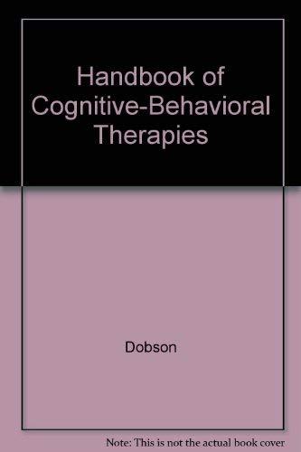 9780898627046: Handbook of Cognitive-Behavioral Therapies