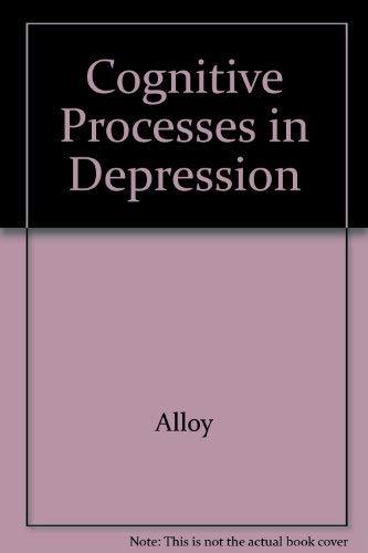 9780898627060: Cognitive Processes in Depression