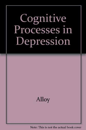 9780898627060: Cognitive Processes in Depression